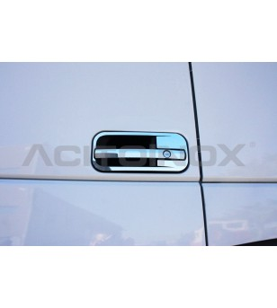 DAF XF 106 Chrome rvs covers voor deurhendel - 011DXF106 - RVS / Chrome accessoires - Acitoinox - Italian series