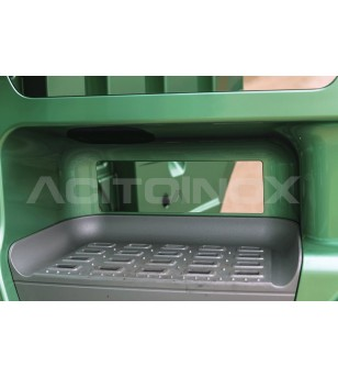 DAF XF 106 cover steps (8 pcs) - 019DXF106 - RVS / Chrome accessoires - Acitoinox - Italian series - Verstralershop