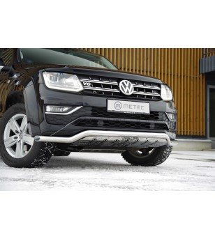 VW AMAROK 16+ CITYGUARD with SKIDPLATE pcs - 840663 - Bullbar / Lightbar / Bumperbar - Metec Car/SUV