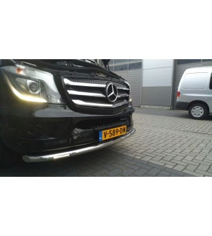 M.BENZ SPRINTER W906 2013+ Front Grill 5 St. rvs hoogglans - 2107400093 - RVS / Chrome accessoires - Unspecified
