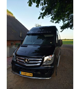 M.BENZ SPRINTER W906 2013+ Front Grill 5 pcs. S.Steel