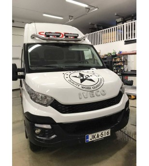 Iveco Daily Roofbar front