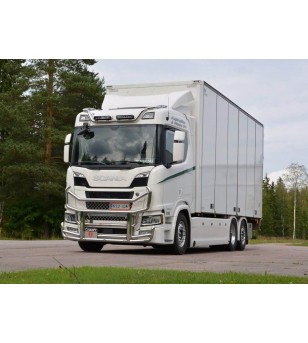 SCANIA R/S Serie 16+ - serie Roofbar V3 Normal Cab / Highline - 100314-1 - Roofbar / Roofrails - Verstralershop