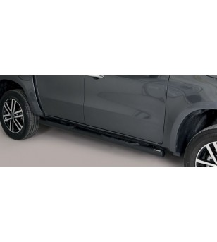 X-Class 17- Grand Pedana (Side Bars with steps) Inox Black Coated - GP/428/PL - Sidebar / Sidestep - Unspecified - Verstralersho