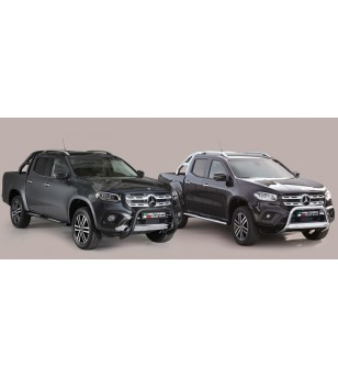 X-Class 17- Oval Design Side Protections Inox Black Coated