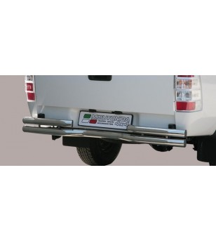 Ranger 07-09 Double Bended Rear Protection - DBR/204/IX - Rearbar / Opstap - Unspecified - Verstralershop