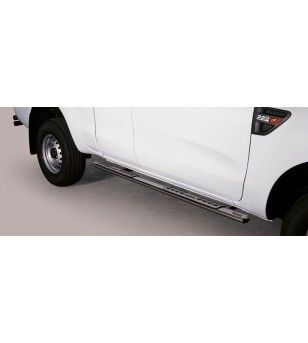 Ranger Super Cab 12- Design Side Protection Oval - DSP/330/IX - Sidebar / Sidestep - Unspecified
