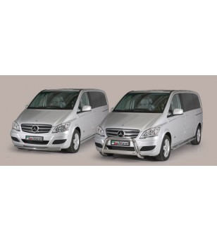 Mercedes Viano SWB 2010+ Design Side Protection Oval - DSP/344/IX - Sidebar / Sidestep - Unspecified - Verstralershop