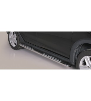Sandero Stepway 2013- Design Side Protection Oval - DSP/347/IX - Sidebar / Sidestep - Unspecified