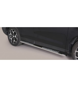 Forester 2013- Design Side Protection Oval - DSP/348/IX - Sidebar / Sidestep - Unspecified