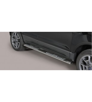 Ecosport 2014- Design Side Protection Oval - DSP/374/IX - Sidebar / Sidestep - Unspecified - Verstralershop