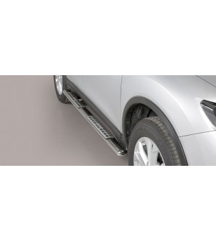 X-Trail 2015- Design Side Protection Oval - DSP/379/IX - Sidebar / Sidestep - Verstralershop