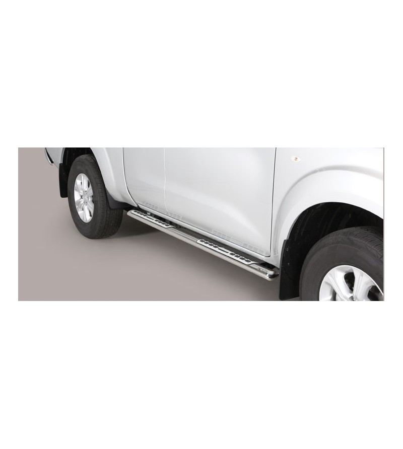 Navara NP300 King Cab 2016- Design Side Protection Oval - DSP/408/IX - Sidebar / Sidestep - Unspecified