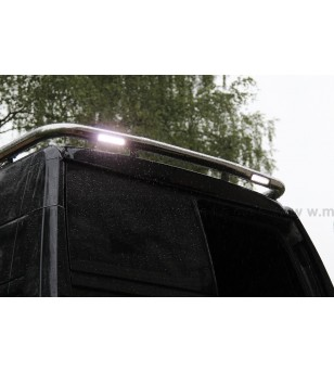 NISSAN NV300 15+ LAMP HOLDER REAR, LED WORKING LIGHTS INTEGRATED - 828005 - Roofbar / Roofrails - Metec Van - Verstralershop