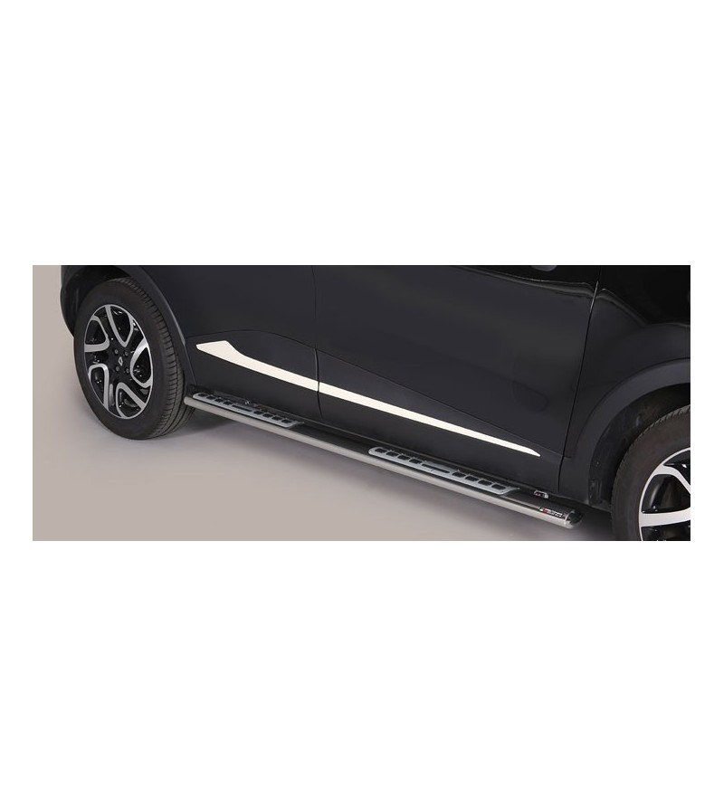 Captur 2013- Design Side Protection Oval - DSP/352/IX - Sidebar / Sidestep - Unspecified
