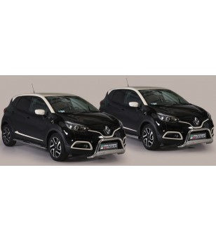 Captur 2013- Side Protections Inox