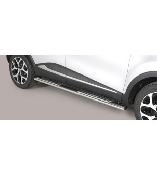 Captur 2018- Design Side Protection Oval - DSP/352/IX - Sidebar / Sidestep - Unspecified