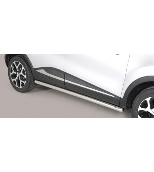 Captur 2018- Side Protections Inox - TPS/352/IX - Bullbar / Lightbar / Bumperbar - Unspecified - Verstralershop