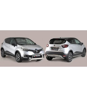 Captur 2018- Side Protections Inox