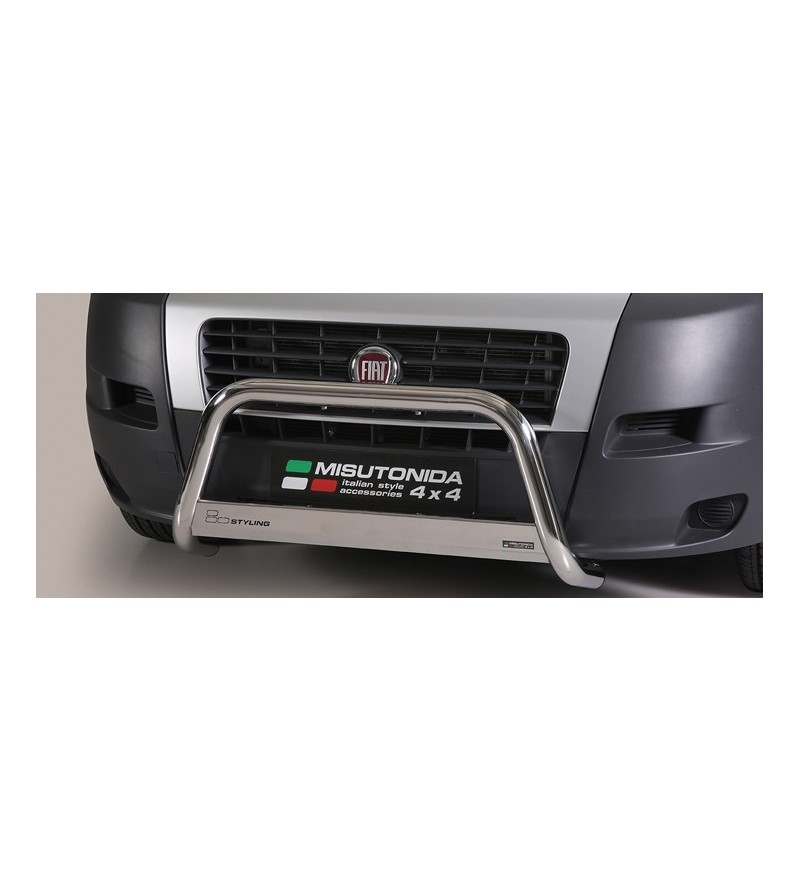 Ducato 2006- Medium Bar ø63 EU - EC/MED/242/IX - Bullbar / Lightbar / Bumperbar - Unspecified