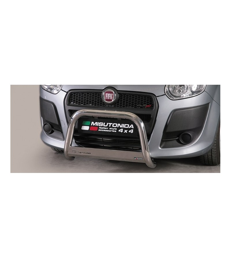 Doblo 2010- Medium Bar EU - EC/MED/329/IX - Bullbar / Lightbar / Bumperbar - Unspecified