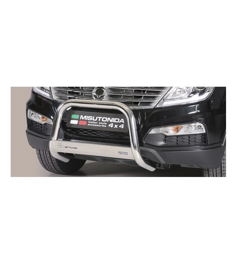 SSangyong Rexton W 2013- Medium Bar EU - EC/MED/346/IX - Bullbar / Lightbar / Bumperbar - Unspecified