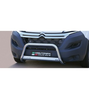 Jumper 2014-, EC Approved Medium Bar Inox - EC/MED/380/IX - Bullbar / Lightbar / Bumperbar - Unspecified