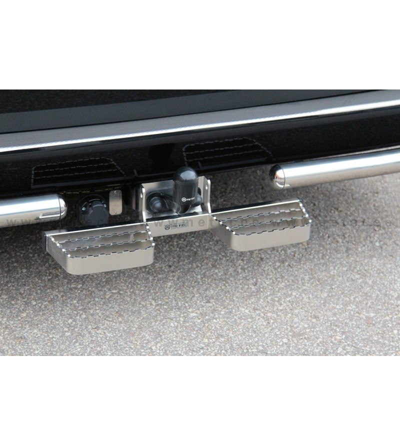 FORD TRANSIT CUSTOM 18+ RUNNING BOARDS to tow bar pcs SMALL - 888419 - Rearbar / Opstap - Metec Van