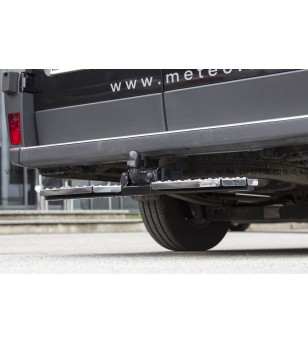 FORD TRANSIT Custom 18+ RUNNING BOARDS to tow bar pcs LARGE