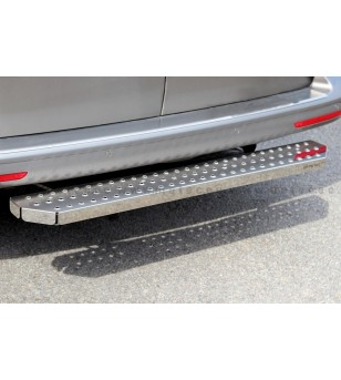 VW T5 03-15 RUNNING BOARDS VAN TOUR for rear doors - 888606T56-R - Rearbar / Opstap - Metec Van