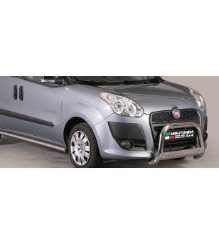 Doblo 10-15 Medium Bar ø63 Inscripted EU - EC/MED/K/329/IX - Bullbar / Lightbar / Bumperbar - Unspecified - Verstralershop