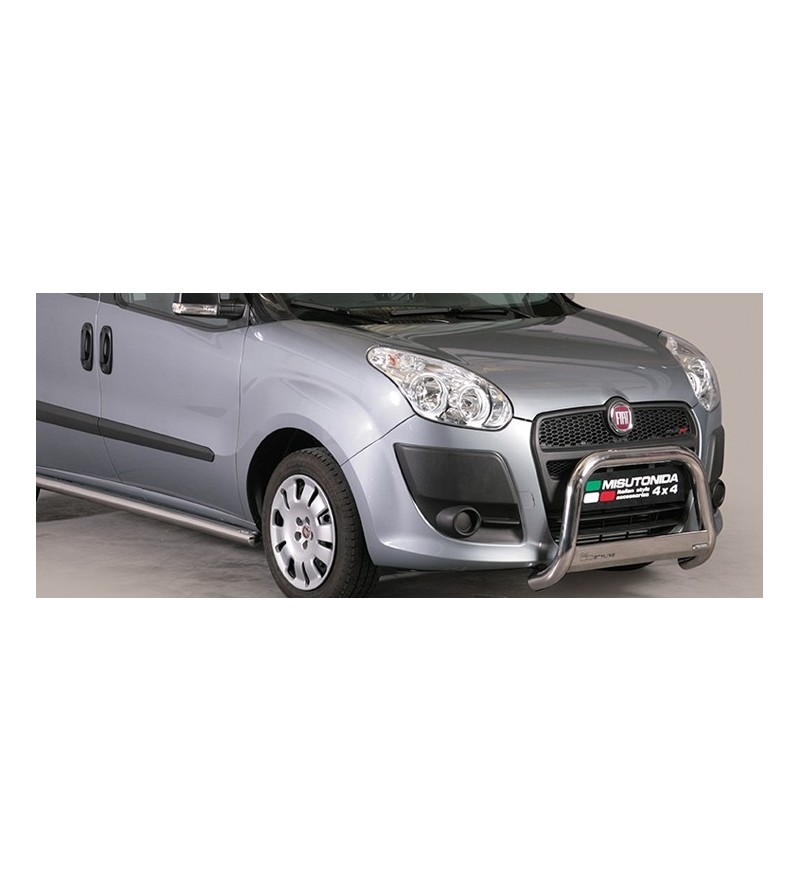 Doblo 10-15 Medium Bar ø63 Inscripted EU - EC/MED/K/329/IX - Bullbar / Lightbar / Bumperbar - Unspecified