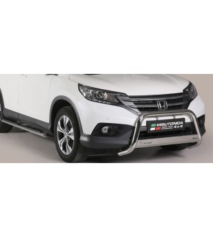 CR-V 2012-2015 Medium Bar inscripted EU - EC/MED/K/342/IX - Bullbar / Lightbar / Bumperbar - Unspecified