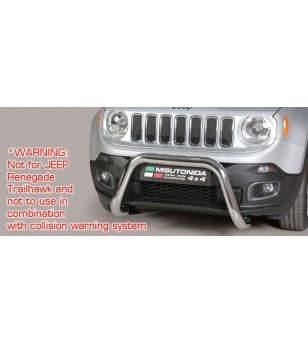 Renegade 2014- Super Bar EU - EC/SB/376/IX - Bullbar / Lightbar / Bumperbar - Unspecified