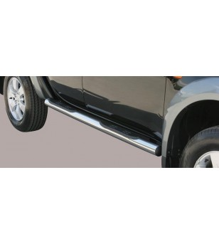 L200 Double Cab 06-09 Grand Pedana ø76 - GP/178/IX - Sidebar / Sidestep - Unspecified