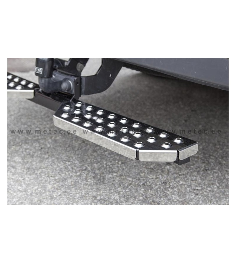 MB VIANO + VITO 10 to 14 RUNNING BOARDS to tow bar pcs LARGE - 888420 - Rearbar / Opstap - Metec Van