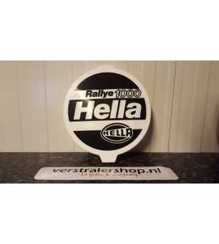 Rallye 1000 beschermkap wit bedrukt - 8XS 130 331-001 - Other accessories - Hella Protection Covers - Verstralershop