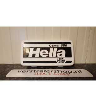 Hella Comet 550 beschermkap wit bedrukt - 8XS 135 037-001 - Other accessories - Hella Protection Covers