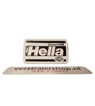 Hella Comet 450 beschermkap wit bedrukt - 8XS 137 000-001 - Other accessories - Hella Protection Covers