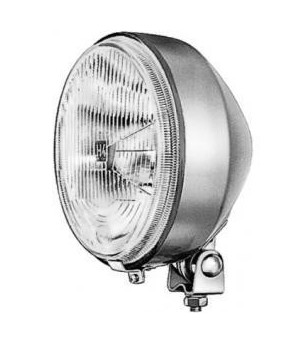 Hella universal headlight round 7 inch H4 incl housing