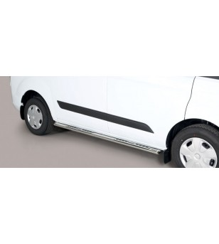 Ford Transit Custom L1 2018- Design Side Protection Oval - DSP/339/IX - Sidebar / Sidestep - Unspecified