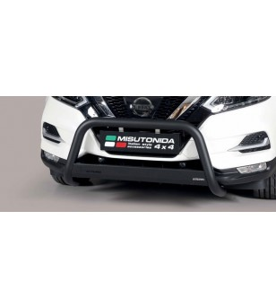 Qashqai 2017- Medium Bar EU Black Powder Coated - EC/MED/363/PL - Bullbar / Lightbar / Bumperbar - Unspecified