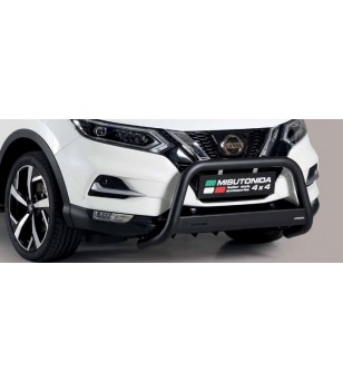 Qashqai 2017- Medium Bar Black Powder Coated - MED/363/PL - Bullbar / Lightbar / Bumperbar - Unspecified