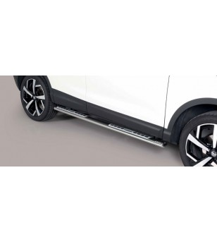 Qashqai 2017- Design Side Protection Oval - DSP/363/IX - Sidebar / Sidestep - Unspecified