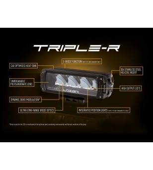 Amarok 2011- Lazer LED Grille Kit