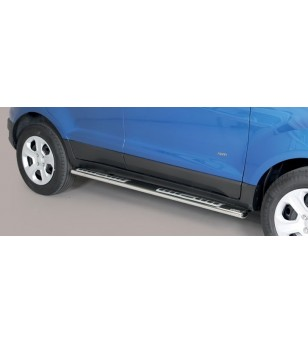 Ecosport 18- Design Side Protection Oval - DSP/374/IX - Sidebar / Sidestep - Unspecified - Verstralershop