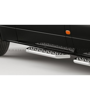 MB SPRINTER 18+ RUNNING BOARDS VAN TOUR for sliding door RWD - 888601SC-S - Sidebar / Sidestep - Metec Van