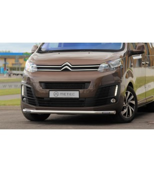 CITROEN JUMPY 16+ CITYGUARD with Philips DRL lights LED - 82640179 - Bullbar / Lightbar / Bumperbar - Metec Van
