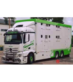 MB ACTROS 2011 - 2,3m wide cabin - Frontbar Style V2 - 1470 - Bullbar / Lightbar / Bumperbar - RST-Steel - Frontbar Style