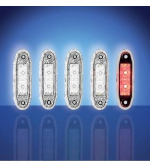 4500 - LED Marker lamp Red - 1001-4005-R - Lighting - Unspecified